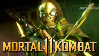 "FIRST TIME PLAYING KABAL ONLINE IN MK11 - Mortal Kombat 11 Online Beta: ""Kabal"" Gameplay"