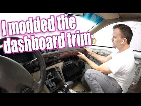 I BROKE IT! Acura Dash Panel Mods!