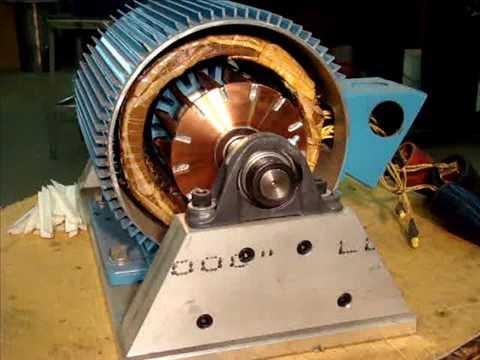 Rotor bar forces experiment youtube for Dreisilker electric motors inc
