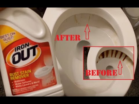 ✨Iron Out Rust and Stain Remover on Toilet Iron Deposits Review