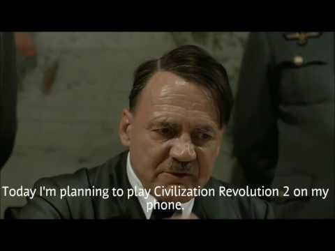 Hitler Plays Civilization Revolution 2
