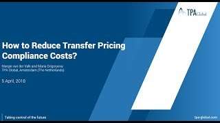 How To Reduce Transfer Pricing Compliance Costs?
