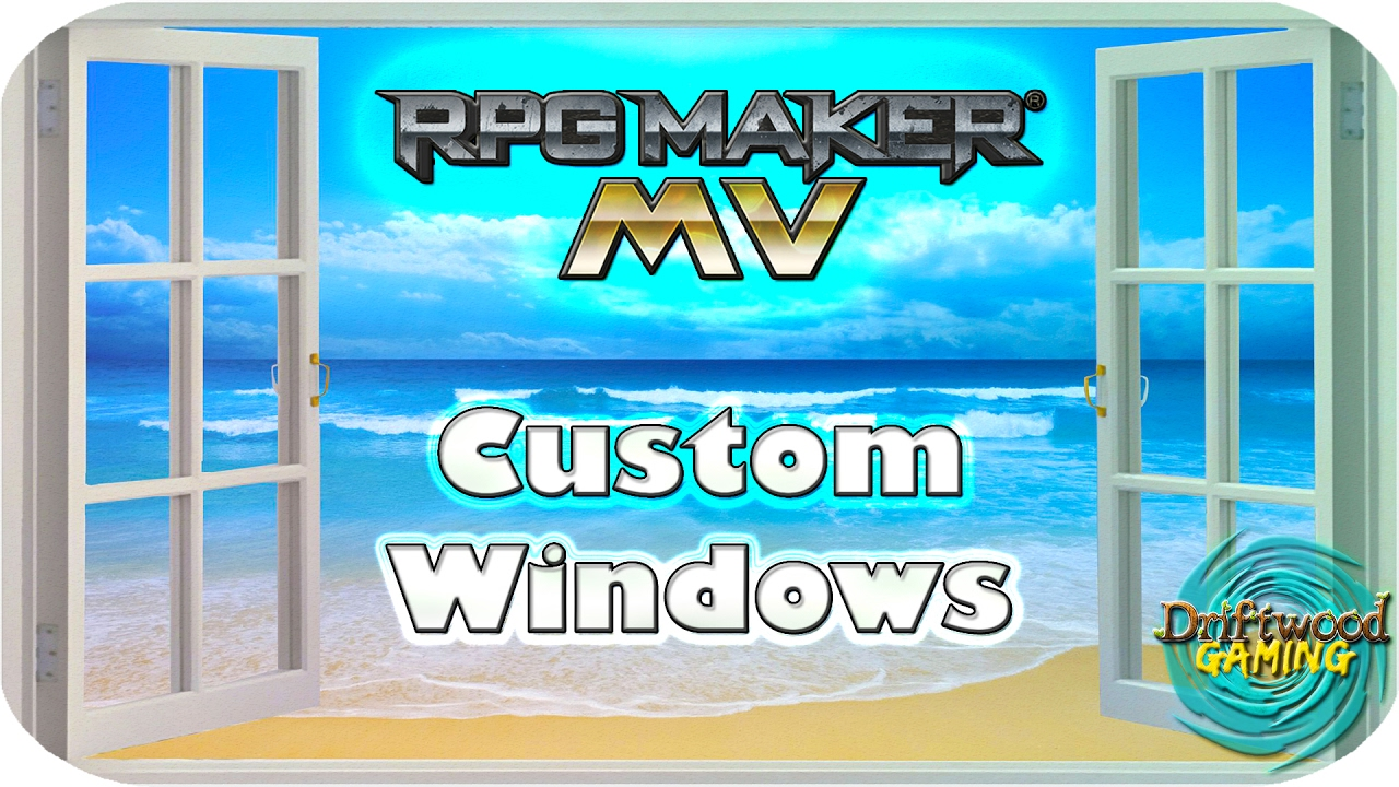 Custom Text Windows - RPG Maker MV Tutorial