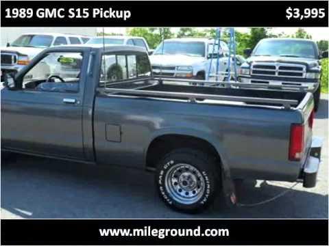 Used Cars Morgantown Wv >> 1989 GMC S15 Pickup Used Cars Morgantown WV - YouTube