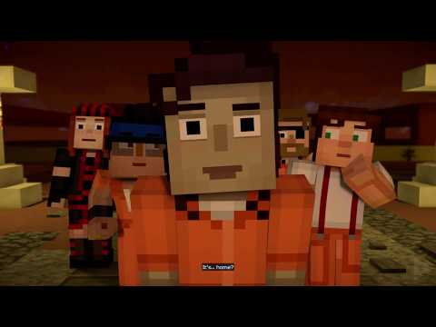 MINECRAFT Story Mode Episode 4: Below the Bedrock SEASON 2  All Cutscenes Game Movie