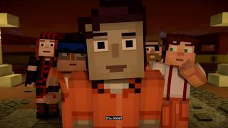 MINECRAFT Story Mode Episode 4: Below the Bedrock (SEASON 2) | All Cutscenes Game Movie