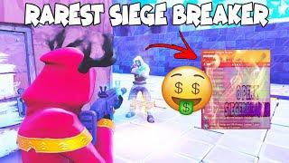 Raging Scammer Loses 8 Perk Siege Breaker ! (Scammer Gets Scammed) Fortnite Save The World