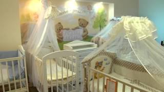 """Дом для малыша. Кроватки от магазина """"Кроха""""."""