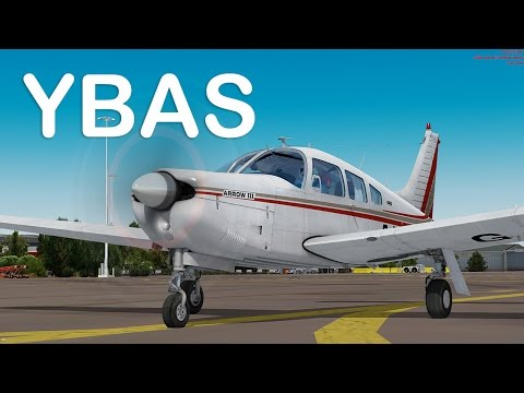 Prepar3D - Just Flight PA-28R Arrow III approch YBAS