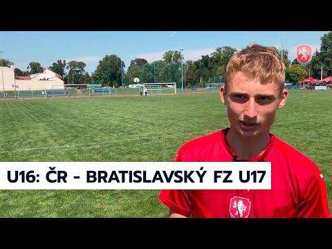 Memoriál Františka Harašty: Bratislavský FZ U17 - ČR U16 2:1 (23. 7. 2020)