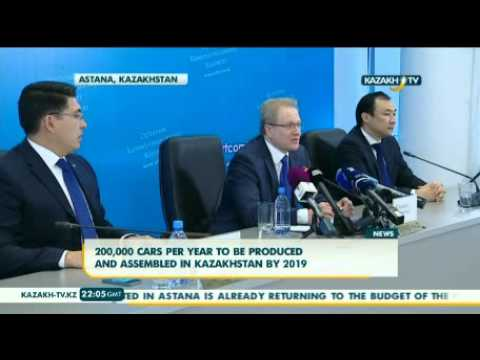 Kazakhstan to produce 200,000 cars per year by 2019