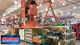 COSTCO SHOP WITH ME SUMMER ITEMS GRILLS KITCHEN COOKWARE PATIO FURNITURE SHOPPING STORE WALK THROUGH