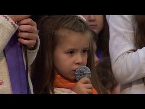 """""""Isus Speranta Noastra""""  Copiii Bisericii Adventiste Grenelle 17 decembrie 2016"""