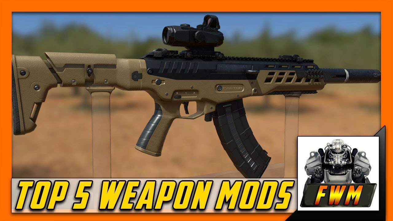 Top 5 Fallout 4 Weapon Mods PC/Xbox/PS4