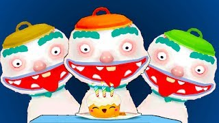 ГОТОВКА ЧЕЛЛЕНДЖ 8 видео для детей Цветная еда с новыми мультяшными героями ПУРУМЧАТА