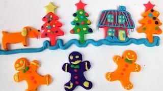 Пластилин Плей До. Лепка из пластилина Play Doh для детей на русском