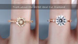 Truth about the 60/60 Idęal Cut Diamond Ring