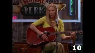 Everything friends: top 10 phoebe's songs
