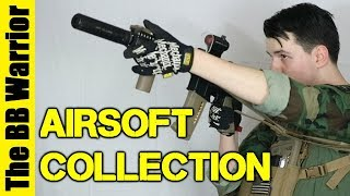 My Airsoft Gun Collection!