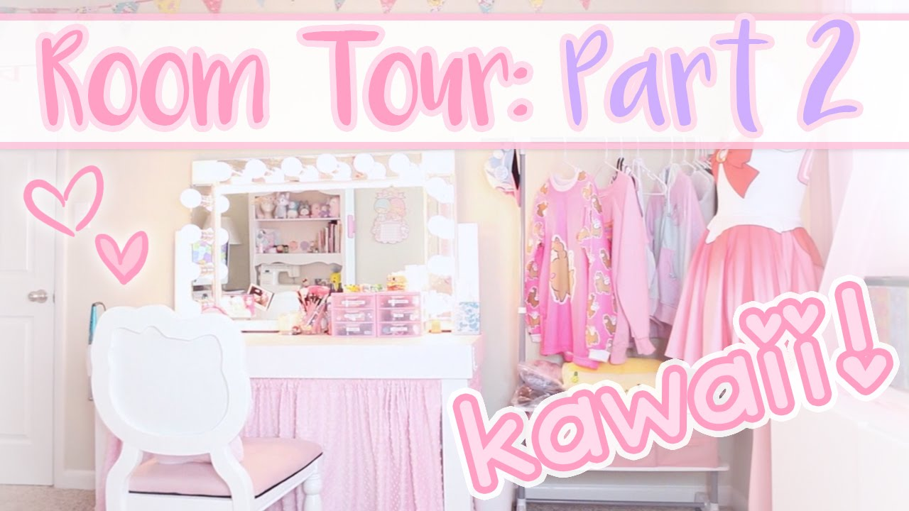 Kawaii Room Tour Part 2 Updated Room Tour Youtube
