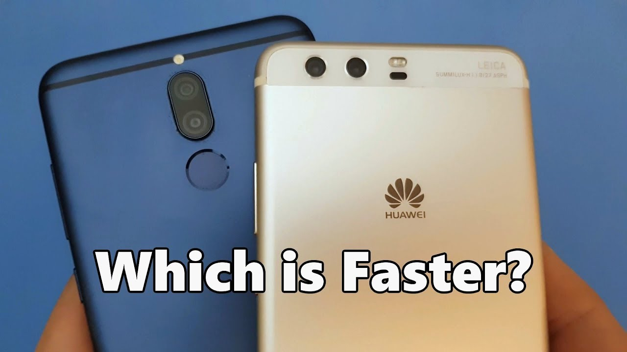 Huawei Mate 10 Lite vs Huawei P10 Plus - SPEED TEST ...