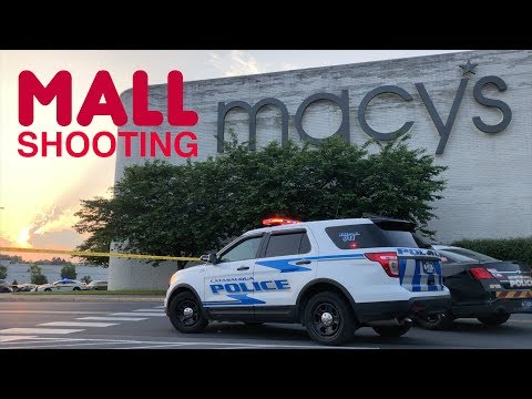 RAW FOOTAGE: LEHIGH VALLEY MALL with Radio traffic