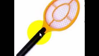 Electric Fly, Mosquito, Bug, Insect Killer Zapper Swatter 2.avi