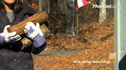 Quick Tips: How to Store Firewood