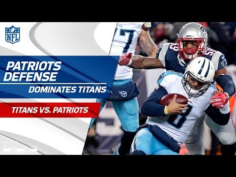 New England's Defense Racks Up 8 Sacks! | Titans vs. Patriots | Divisional Round Player HLs