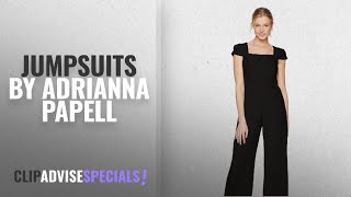 Top 10 Adrianna Papell Jumpsuits [2018]: Adrianna Papell Women's Jumpsuit