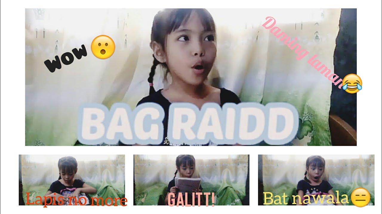 Vlog #4 What's in my bag #smallyoutuber #bagraid