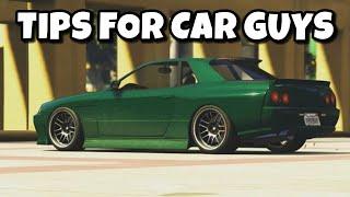 Tips for Car guys in GTA5 Online