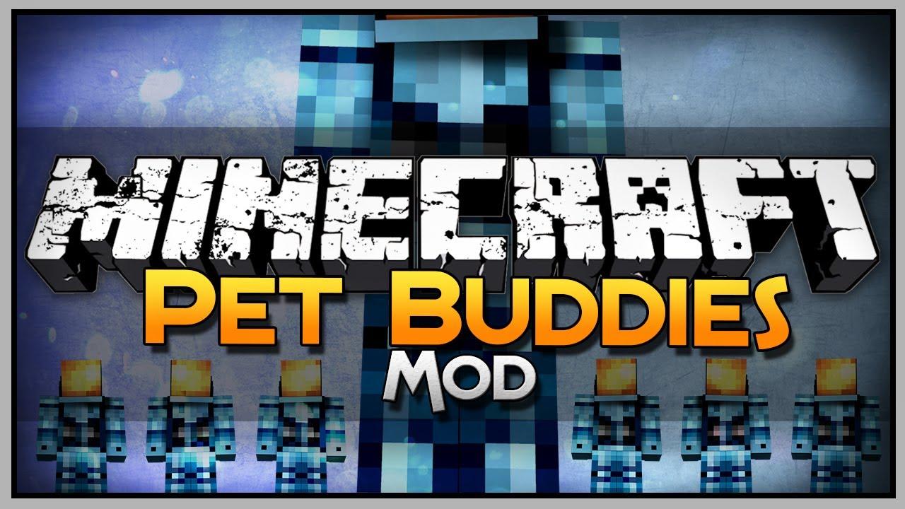 Minecraft Mod Showcase: Pet Buddies Revisited!