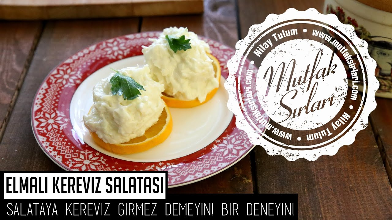Kolay Kereviz Salatası Tarifi – Salata Tarifleri