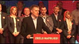 """Igor Lukšić na konvenciji liste """"Za evropske Plužine-Milo Đukanović"""" 17.maj 2014."""