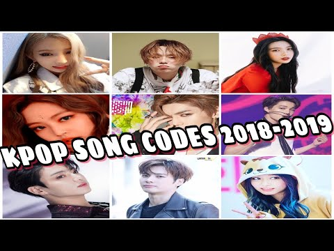 ROBLOX Song Codes 2018-2019 | **WORKING** (BTS, BLACKPINK, TWICE, MOMOLAND, GOT7, RED VELVET, ETC.)