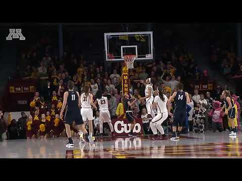Highlights: Gopher Women's Basketball Defeats New Hampshire 70-47