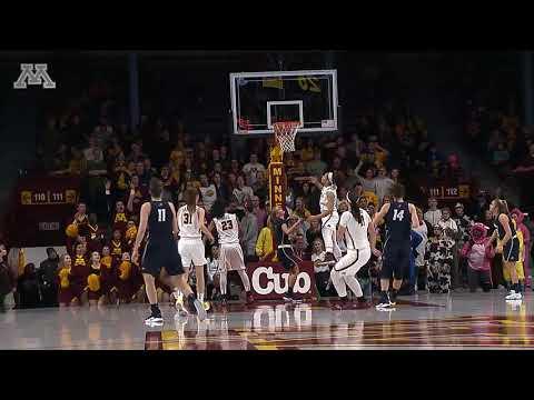 Highlights: Gopher Women's Basketball Defeats New Hampshire 70-47