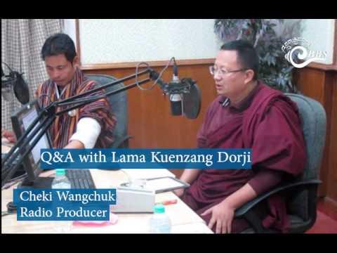 Cheki Wangchuk in conversation with Lama Kuenzang Dorji