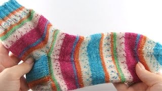 How to Knit Socks #1 Cuff