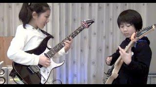 "Polyphia ""Crush"" cover / Li-sa-X (Japanese 11year old girl)"