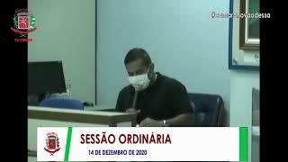 Sessão Ordinária - 14/12/2020