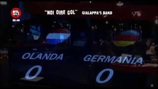 Olanda - Germania. Noi Dire Gol Euro 2012 Radiocronaca Gialappa's Band 13 Giugno 2012