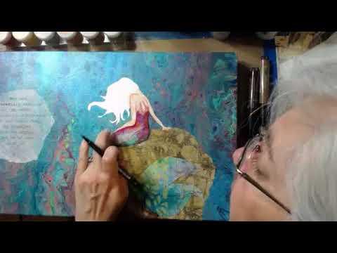 Mermaid Dreams Canvas