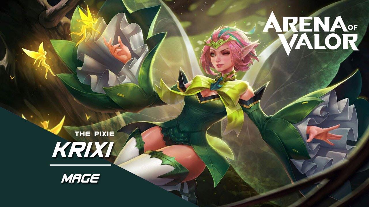 AOV - Arena Of Valor - Krixi gameplay - YouTube