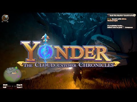 Seek the Master Constructor & Search for Celestial Ore | Yonder: Cloud Catcher Chronicles