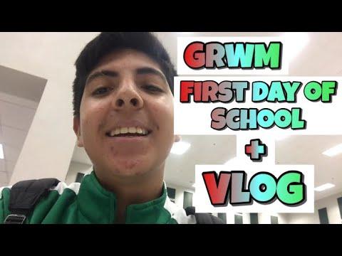 GRWM : First Day Of School 2018 || (Sophomore) || Aj Lustt