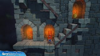 Crash Bandicoot 1 (PS4) - Stormy Ascent 100% Walkthrough - All Boxes (The Crown Jewel Trophy Guide)