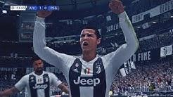 FIFA 19 - Juventus vs Paris Saint Germain | Gameplay HD PS4 PRO