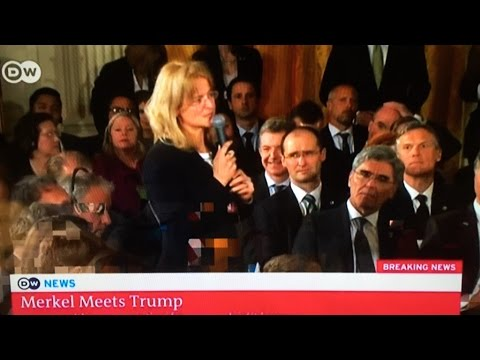 Thumbnail: German Press Agency Reporter asks, Why Trump keeps saying things he knows are not true? 3/17/2017